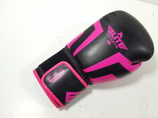 Elite Sports Boxing/Muay Thai Gel Sparring Training Glove (Pink 10oz) Left Only