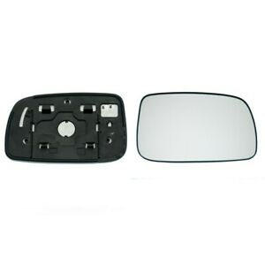 TOYOTA PRIUS 2003->2008 DOOR / WING MIRROR GLASS, HEATED & BASE PLATE,RIGHT SIDE
