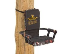 New Rivers Edge Steel Framed 300 lb Capacity Camo Hunting Lounger Tree Seat