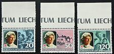 LIECHTENSTEIN - timbre/stamp Yvert et Tellier n°816 à 818 n** (cyn5)