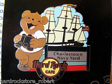2014 HARD ROCK CAFE BOSTON NATIONAL PARK BEAR SERIES/CHARLESTOWN NAVY YARD PIN