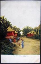 PHILIPPINES~1900's SAN NICHOLA  CEBU ~ Children on Main Street