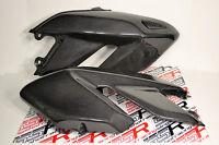 Ducati Hypermotard 796 1100 EVO/SP Gas Fuel Tank Side Covers Panels Carbon Fiber