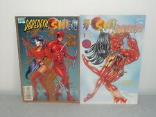 DAREDEVIL SHI + SHI DAREDEVIL  MARVEL & CRUSADE COMICS 1997 (VO)
