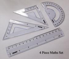Children's 4 Piece Maths Stationary Set / Kit