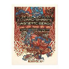 Guy Burwell Poster Edward Sharpe Magnetic Zeros 9/14/12 Vancouver BC art print