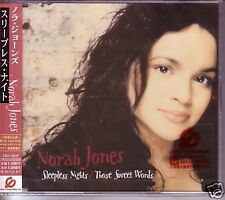 NORAH JONES Sleepless Nights /Sweet JAPAN CD Single SEALED w/ OBI USA SELLER