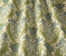 iliv  Art Deco Acanthus Cornflower (William Morris Style) Curtain/Uphol Fabric