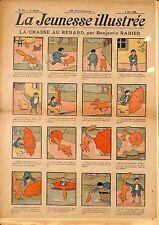 """"""" LA JEUNESSE ILLUSTREE """" PERIODIQUE BENJAMIN RABIER VALVERANE LUC LEGUEY 1908"""