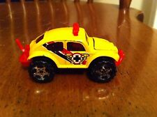 Vintage Matchbox 1:57 Volkswagen Beetle Beatle 4X4 4 X 4 Yellow Diecast Toy Car