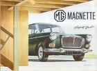 MG Magnette Mk IV 1966-68 Original UK Sales Brochure Pub. No. 2353 8/66