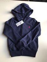 BNWT Authentic Ralph Lauren Girls Hoodies/jumper sizes 3T, 4T, 6