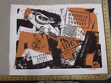 MB/ Rock Roll Concert Poster Fog Tooth S/N LE # 100 Magnolia Electric Company