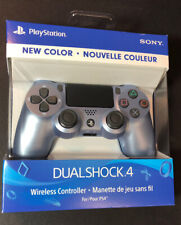 Official Sony PS4 DualShock 4 Wireless Controller v2 [ Titanium Blue ] NEW