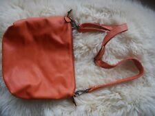 Sac orange Flora and Co, avec bandoulière