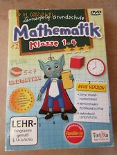 Lernerfolg Grundschule: Mathematik Klasse 1-4 DVD von Tivola Lehrprogramm