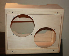 rawcabs 2x10 pine narrow panel super combo speaker cabinet for 5e3 chassis D.I.Y