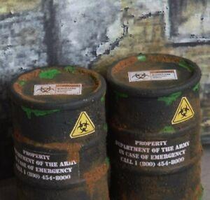 1/18 Scale Trioxin Barrels (2) Shop Garage Diorama items from Austin's Garage