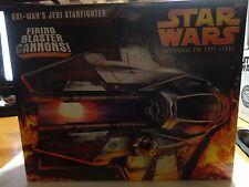 Star Wars Revenge of the Sith Obi-Wan's Jedi Starfighter w/Firing Blaster Cannon