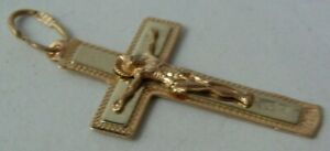 Cross 56 (14k ) Solid Rose White Gold Imperial Russia 1915