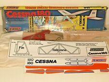 ✈️Vintage DPR Model CESSNA 180 Rubber Powered Balsa Wood Model Kit 45cm WS Boxed