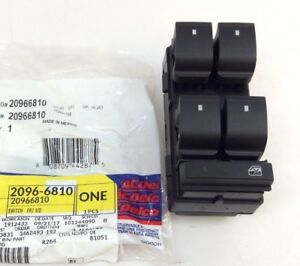 2007-2010 Saturn Outlook front driver Master Power Window Control Switch new OEM