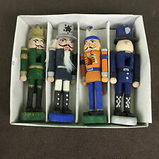 Painted Wooden Ornaments (Miniature soldiers or Nutcrackers){sold individually}