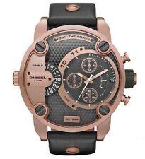 Diesel DZ7268 Little Daddy Rose Gold Chronograph Leather Men's Wrist Watch