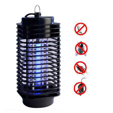 H31 110V Electric Mosquito Fly Bug Insect Zapper Killer With Trap Lamp Black Usa