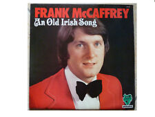 FRANK McCAFFREY * AN OLD IRISH SONG * SIGNED VINYL LP HARP HPE 959 PLAYS GREAT
