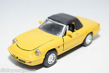 ARS ALFA ROMEO SPIDER SPYDER YELLOW NEAR MINT CONDITION