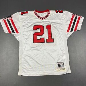 100% Authentic Deion Sanders Mitchell Ness 1989 Rookie Falcons Jersey Made USA