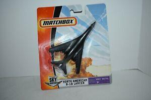 Matchbox Sky Busters N American B-1B Lancer Bomber Black 2006 MOC See My Store
