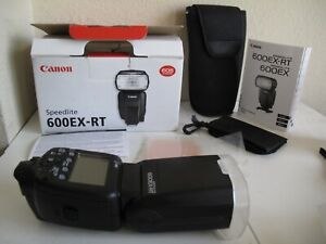 Canon 600EX-RT Speedlite Flash in Box -Shoe Mount Ready 2 Use 600 EX Speedlight