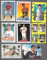 1991 Score #671 Chipper Jones Rookie & 7 Chipper Jones Rookie Atl. Braves Cards