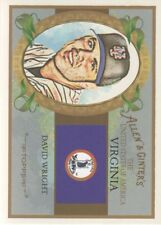 2008 Topps Allen & Ginter United States #46 David Wright New York Mets