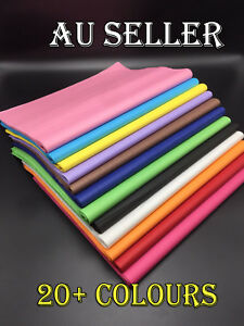 Bulk 50-500 Ream Tissue Paper Gift Wrap Wrapping Craft Paper 20+ COLOURS