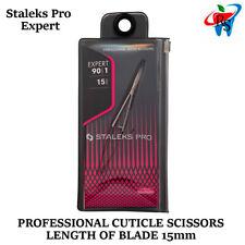 Staleks Micro Scissors Beauty Skin Tissue Nail Manicure Cuticle Remove SE-90/1