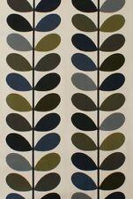 Designer Orla Kiely Multi Stem Moss Cotton Curtain Upholstery Craft Fabric