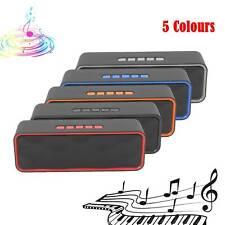 Multicolor Wireless Bluetooth Speaker High Bass Portable  Stereo Loudspeaker
