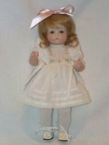 """10"""" All Bisque Artist Made REPRODUCTION German Just Me Doll"""