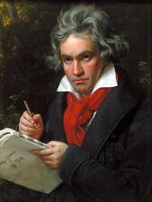 """Stieler compositeur ludwig van beethoven 12x16 """"poster art print HP3585"""