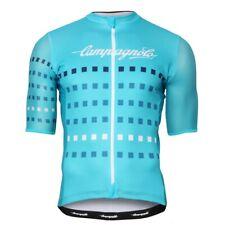 NEW Campagnolo Iridio Cycling Jersey RRP £89.99 Short Sleeve Aqua Marine Blue