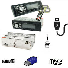AUTORADIO FM STEREO USB/AUX/MICRO SD CARD RADIO PLAYER MP3 MP4 AUTO UNIVERSALE