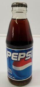 AR) Vintage Un-opened Full 7oz Glass Pepsi Soda Bottle