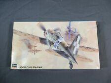 Hasegawa 1:48 Macchi C.202 Folgore Model Kit OPEN 09132 Jt32
