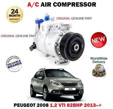FOR PEUGEOT 2008 1.2 VTI 82bhp 2013--> ORIGINAL AC AIR CONDITION COMPRESSOR