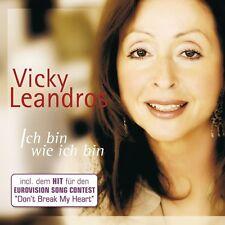 """VICKY LEANDROS """"ICH BIN WIE ICH.."""" 2 CD SPECIAL EDT NEU"""