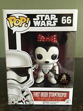 Custom Minnie Mouse Funko Pop! Star Wars Stormtrooper Disney Exclusive New