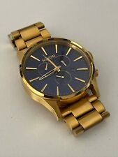 Nixon Gold Watch - The Sentry - Chronograph